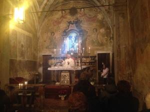 S.Antonio 17 gennaio 2014 - prima messa dopo il restauro