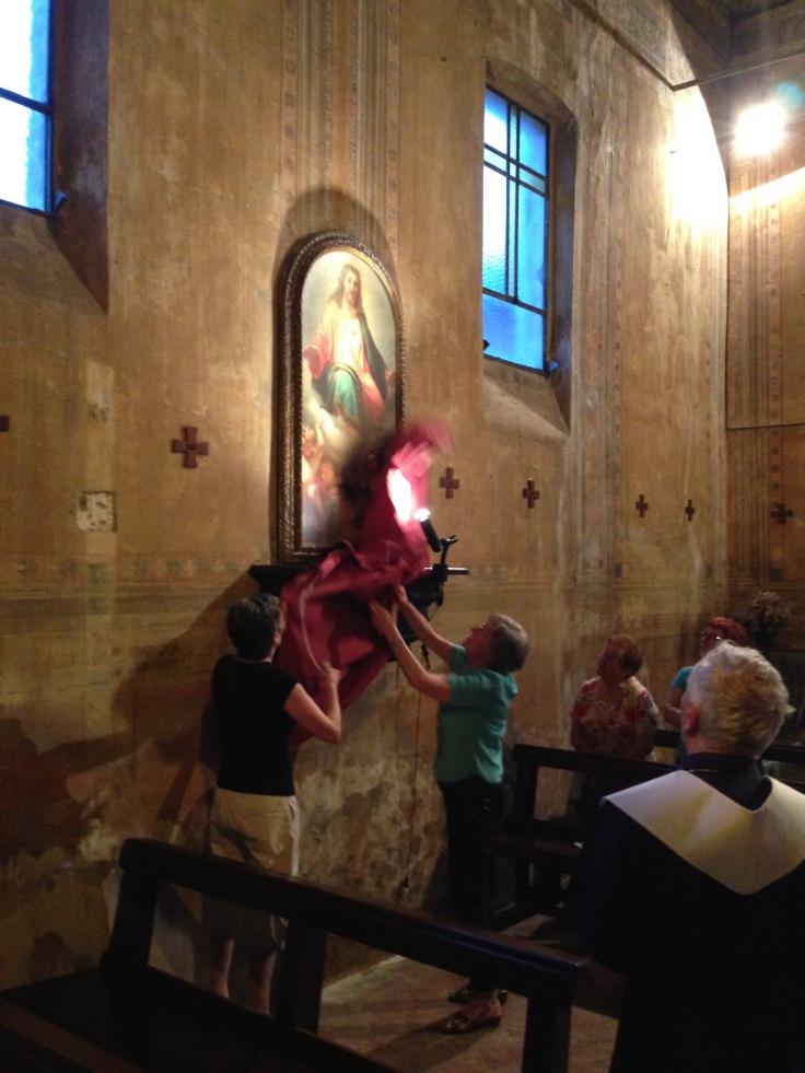 Sacro Cuore - Luglio 2015 - inaugurazione
